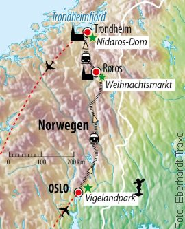 Adventsreise Norwegen