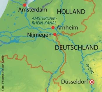 Rheinschifffahrt ab Düsseldorf