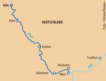 Route Weihnachtsrmärkte ab Köln