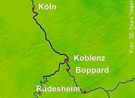 Adventskreuzfahrt auf dem Rhein