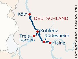 Adventsreise Köln-Rüdesheim-Koblenz-Köln