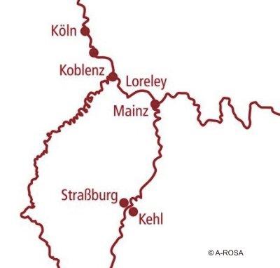 Weihnachtsreise Rhein