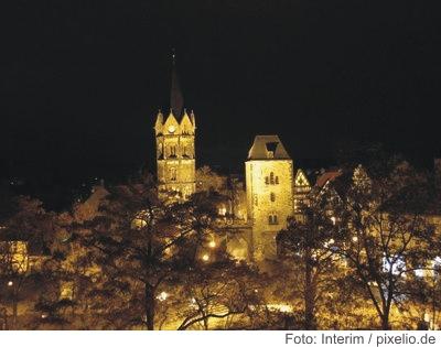 Silvester in Eisenach