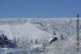 Skihang am Fichtelberg