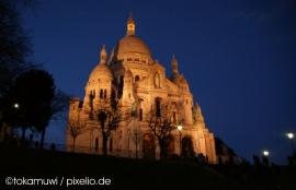Sacre Coeur bei Nacht - © tokamuwi/pixelio.de