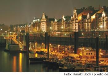 Hamburg Hafenansicht