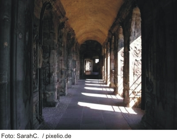 Gewölbe Porta Nigra in Trier