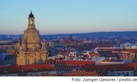 Silvester in Dresden