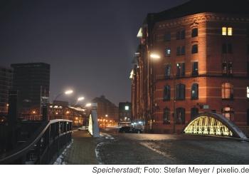 Silvester in der Hansestadt Hamburg
