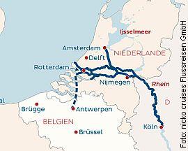 Silvesterreise: Köln-Antwerpen-Amsterdam-Köln