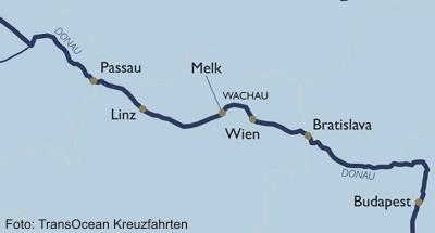 Silvesterreise Donau - Passau