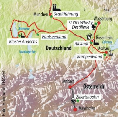 Silvesterrundreise Chiemgau