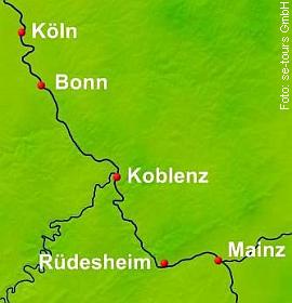 Silvesterkreuzfahrt Rhein Serenade I