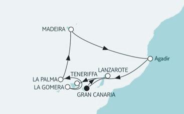 Silvesterkreuzfahrt; Foto: TUI Cruises