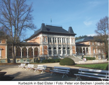 Kurbezirk in Bad Elster