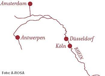 Weihnachtskreuzfahrt Rhein Nord