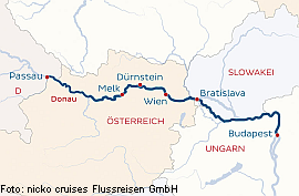8 Tage Weihnachtsreise Passau-Budapest-Wien-Passau
