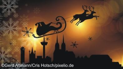 Rheinblick Winter