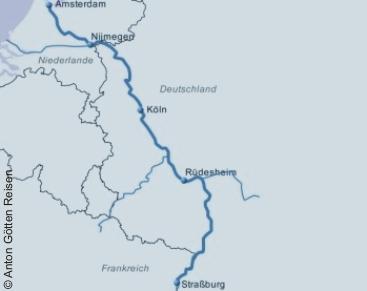 Weihnachten auf dem Rhein