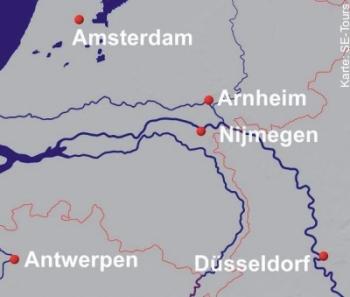 Mit MS Manon nach Amsterdam