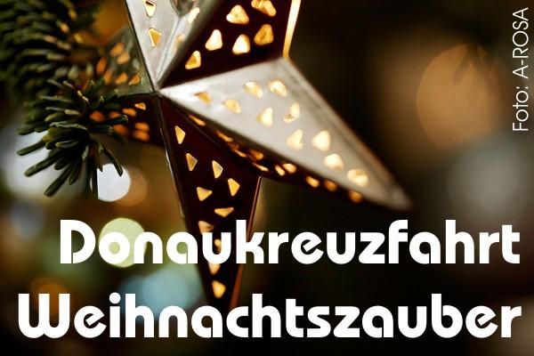 Donaukreuzfahrt Weihnachten A-ROSA MIA