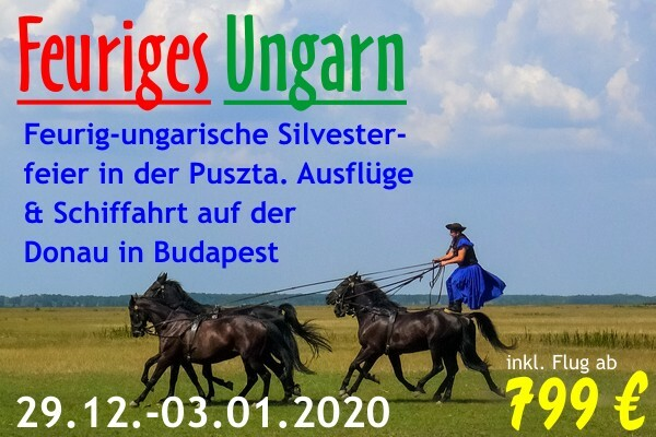 Feuriges Ungarn Silvester