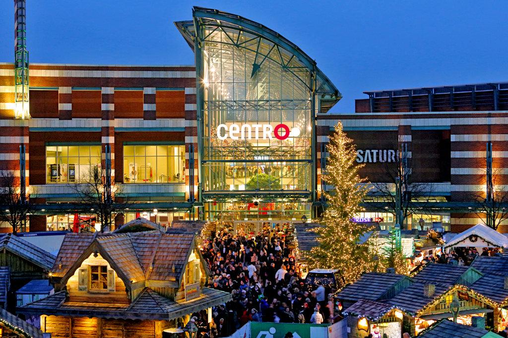 Foto: Weihnachtsmarkt am CentrO / spar-mit!